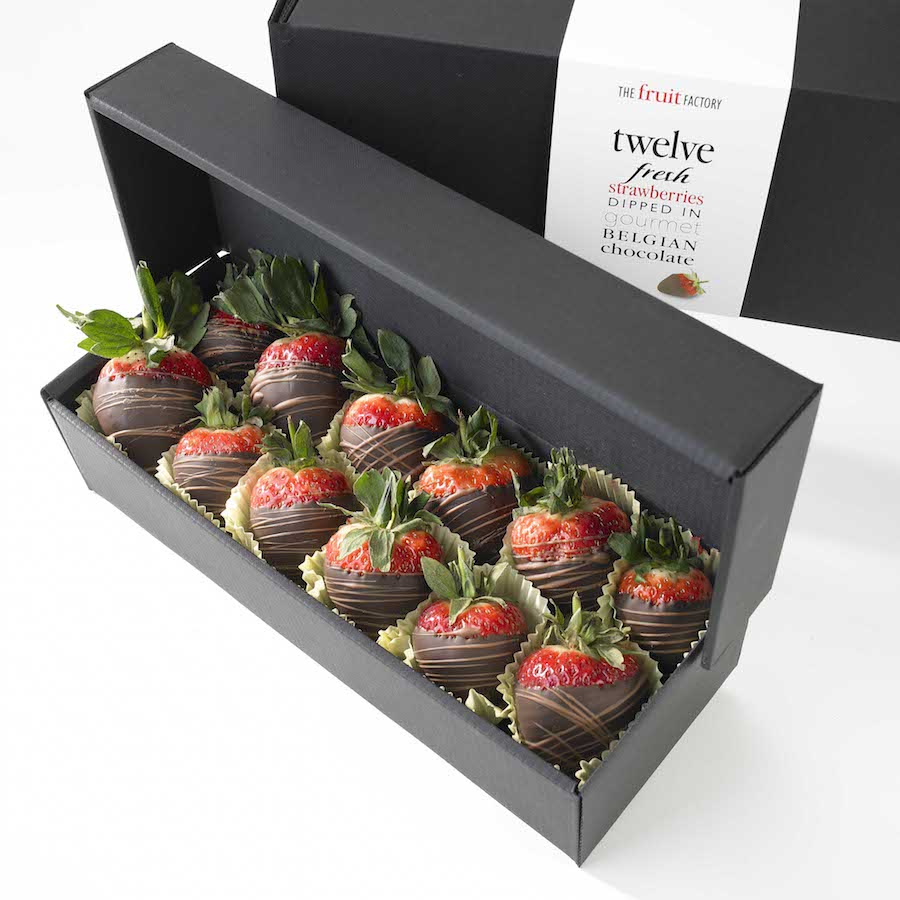 Chocolate Covered Strawberries Packaging Boxes