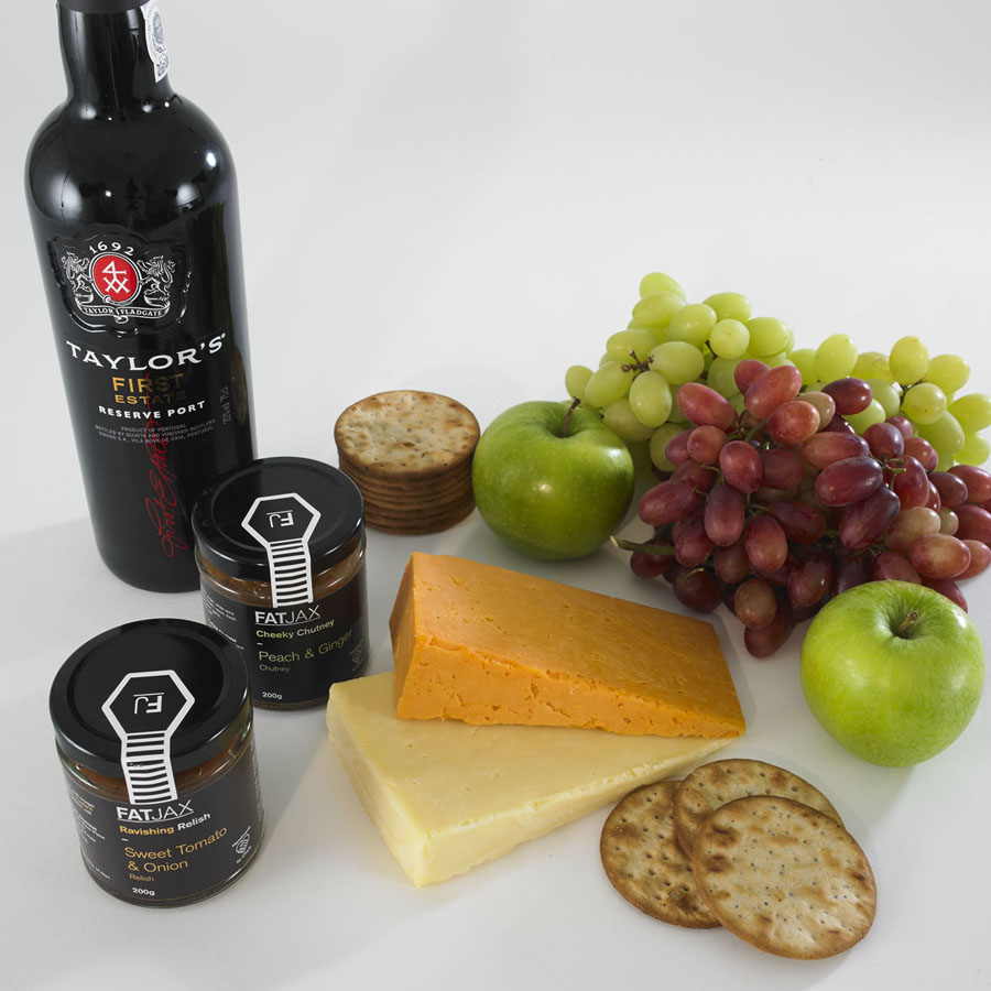 Cheese Port & Chutney