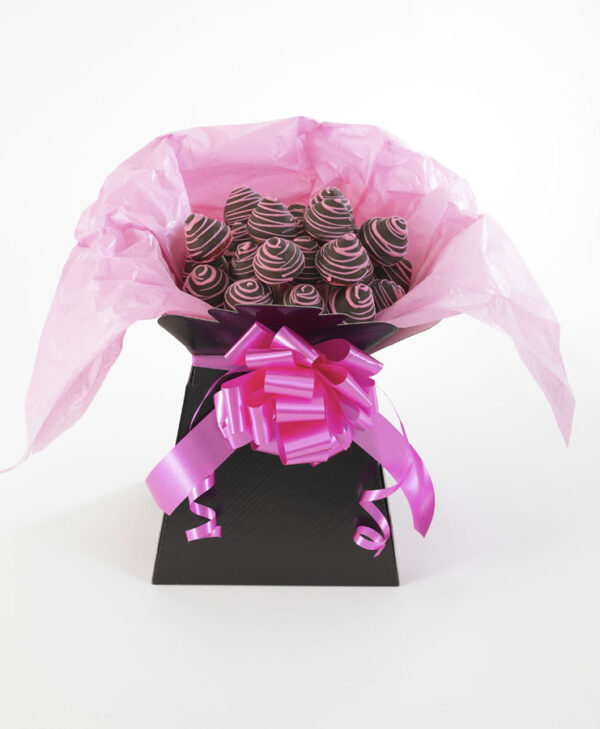 Chocolate-Covered Strawberries Bouquets