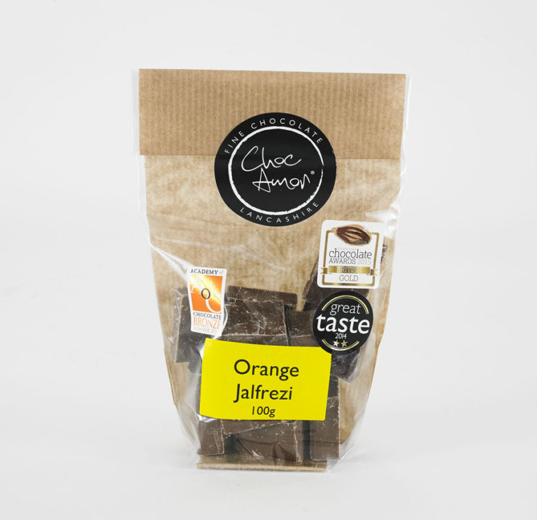 Orange jalpfrezi choc