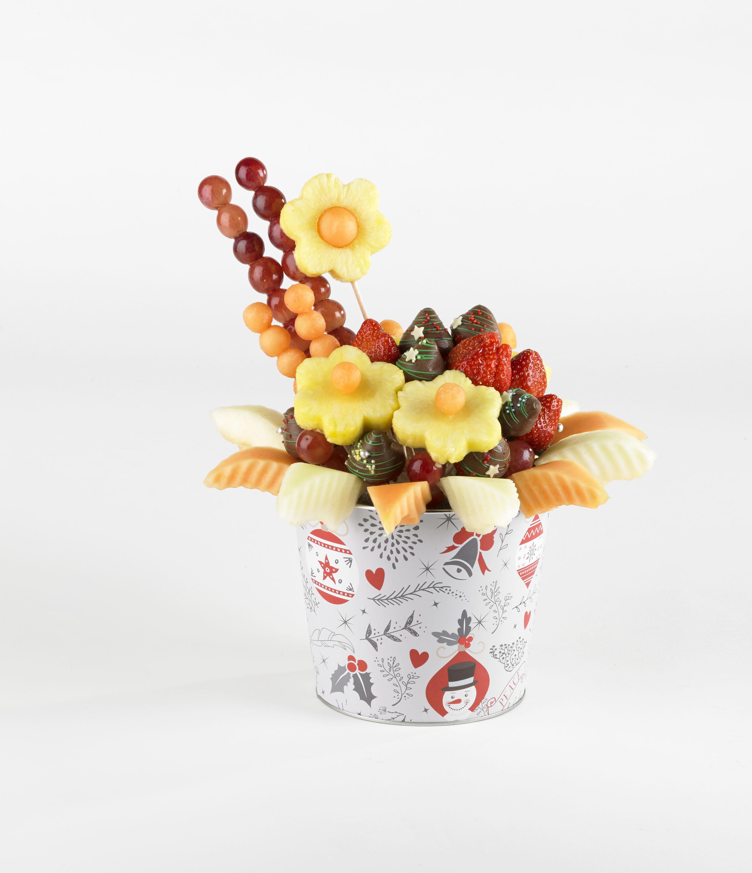 Christmas Fruit Bouquets